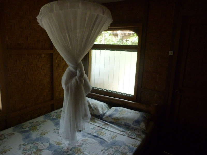 Siquijor, Villa Marmarine. 500 Pesos Aucun moustique...