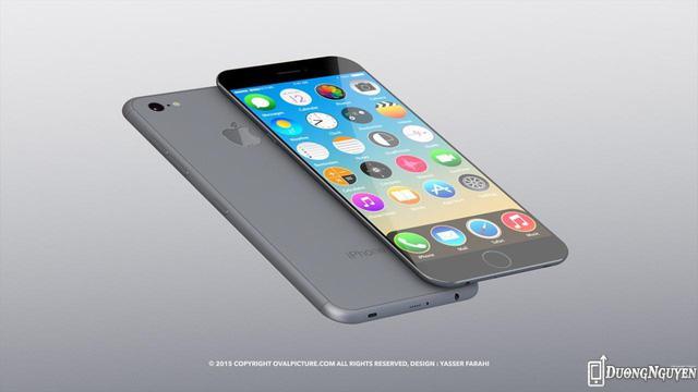 Những hình ảnh dự kiến ban đầu của iPhone 7