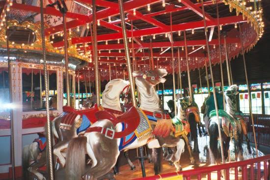 Carousel in Bushnell Park in Hartford, CT