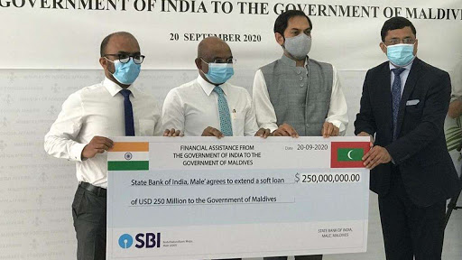 India offers financial support to Maldives to combat COVID-19