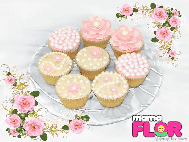 Diseños de Cupcakes para Bodas
