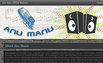 AnuManu Website