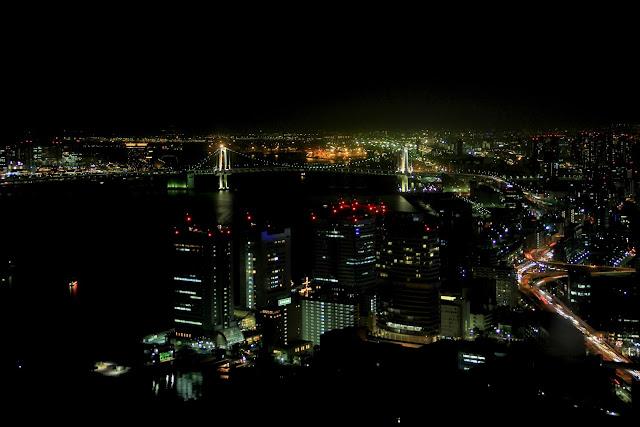 日本.東京.夜景.Caretta汐留