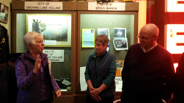 Helen Jane Peters shared Sylvan Lake Pewabic Connection, January 2016 Open House.