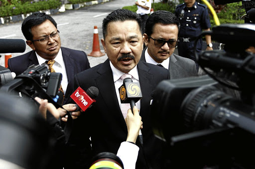 Indonesian ambassador to Malaysia Rusdi Kirana speaks to journalists at the Shah Alam High Court, where Indonesian Siti Aisyah and Vietnamese Doan Thi Huong are on trial for the killing of Kim Jong-nam, the estranged half-brother of North Korea's leader, on the outskirts of Kuala Lumpur, Malaysia, on October 2 2017. Picture: REUTERS