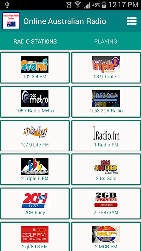 All Australian Radio Stations