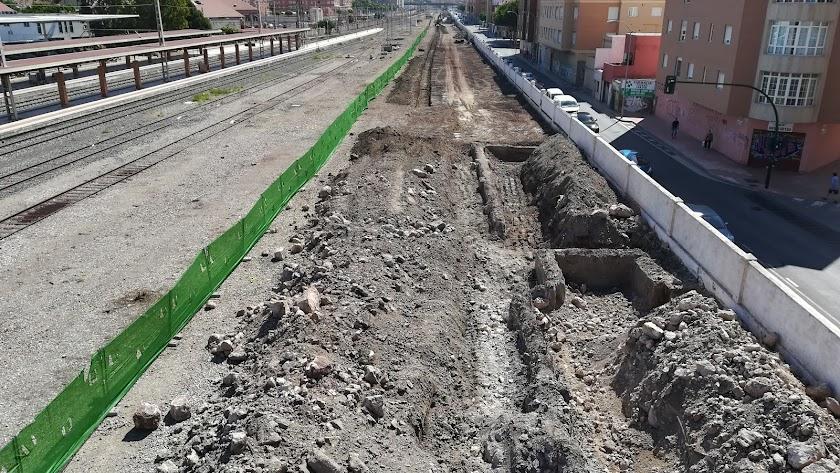 Situación actual de las obras de ampliación de Sierra Alhamilla