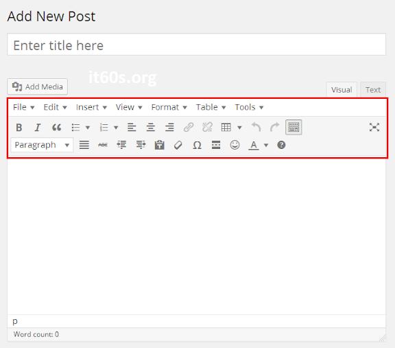 Cách tích hợp công cụ soạn thảo văn bản trong Wordpress 3