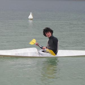 Arthur et son drôle de kayak