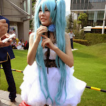 cosplay at Comiket 84 - Tokyo Big Sight in Japan in Tokyo, Tokyo, Japan
