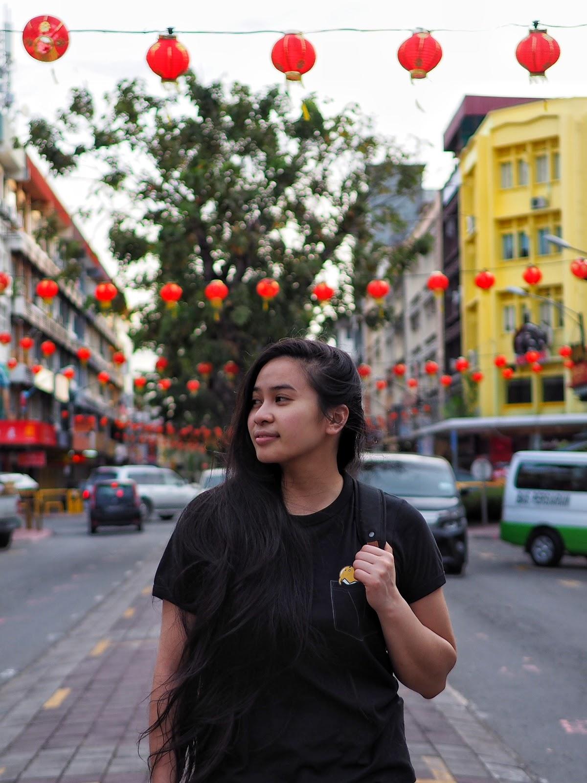 sabah kota kinabalu malaysia chinese new year lanterns