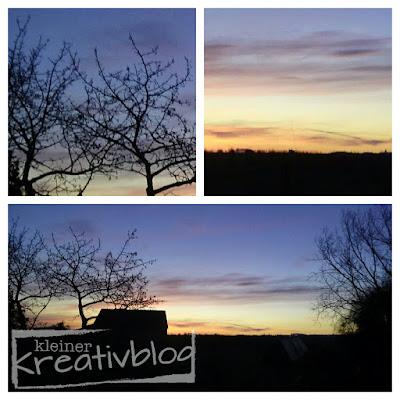 kleiner-kreativblog: zauberhaftes Morgengrauen