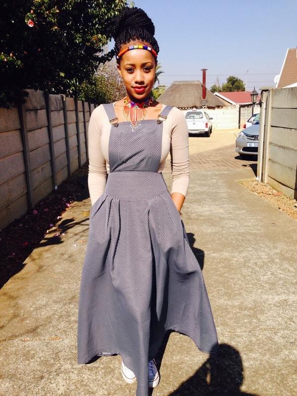 Trendy shweshwe dresses for umembeso 2019 , Fashionre