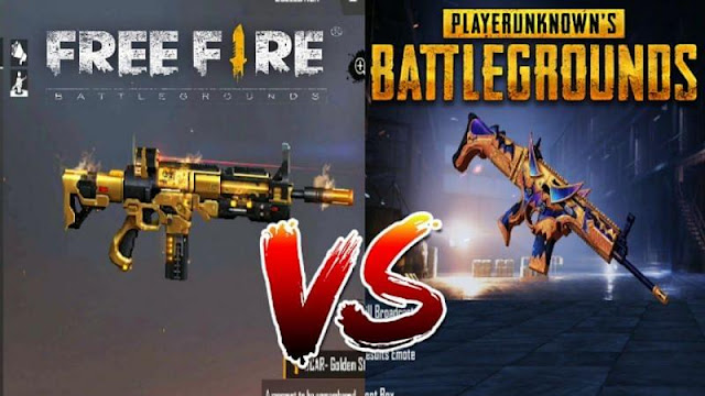 Free Fire vs PUBG Mobile: Hangi oyunda daha fazla silah var?