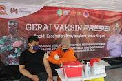 Hari Ini, 116 Warga Ikut Suntik Vaksin di Gerai Vaksin Presisi Polres Kepulauan Seribu