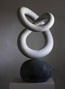 Sandlin: CARRARA MARBLE, 2017: W 51cm, H 84 cm, D 39 cm; SOLD