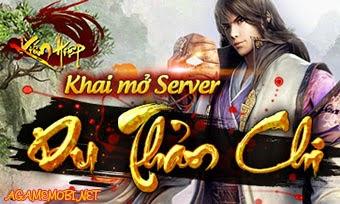 Kiếm Hiệp 2.8 Khai mở server mới Chu Chỉ Nhược