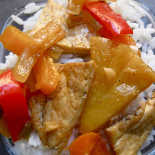 Tofu & Pineapple Stir-fry