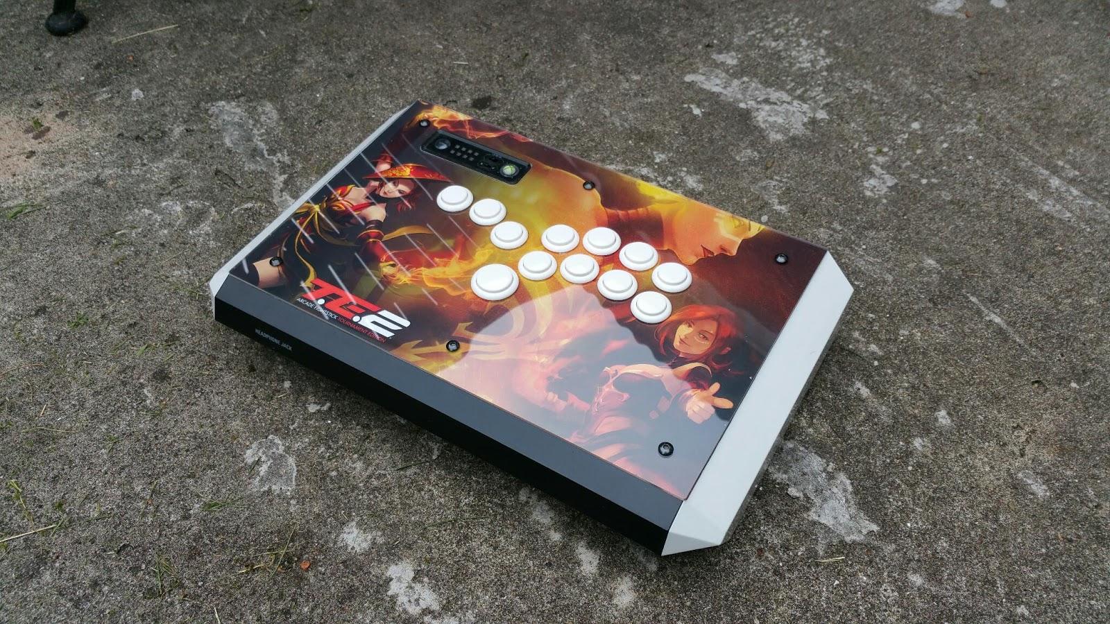 Arcade and Video Game Modding: Hitbox Arcadeforge
