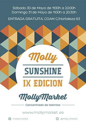 Molly Market, Sunshine edition, 30 y 31 de mayo en LaSede COAM