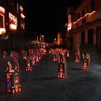 Faroles con forma de velas