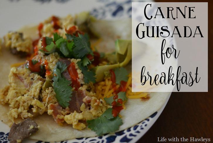 Carne Guisada for Breakfast