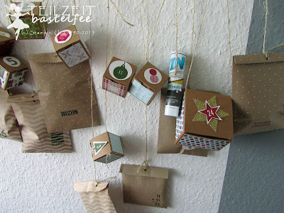 Stampin' Up! - Adventskalender, advent calendar, box, Tüte, bag, 25 and counting, 24 TürchenbearbeitenBildunterschrift löschen