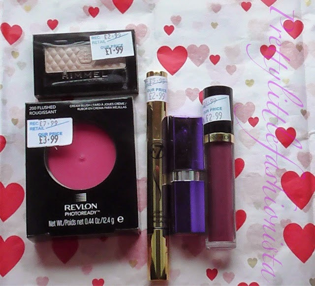 Haul- Revlon, Rimmel and W7
