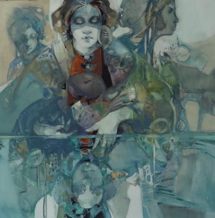 Still Water. Artist Carla O'Connor, AWS-df/NWS