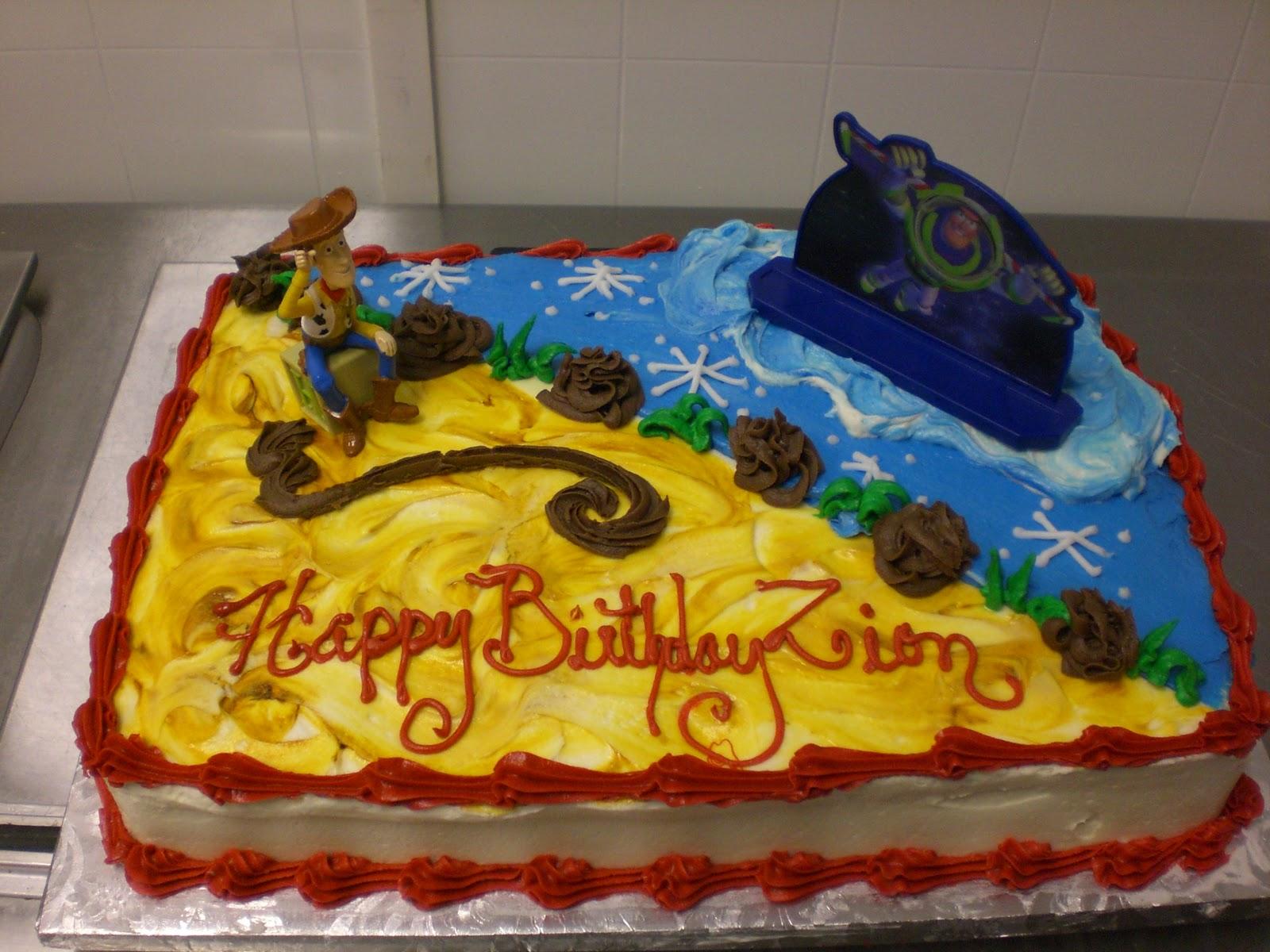 Cake Art Lawrenceville Hwy : CAFE AROMAS: Toy Story Cake