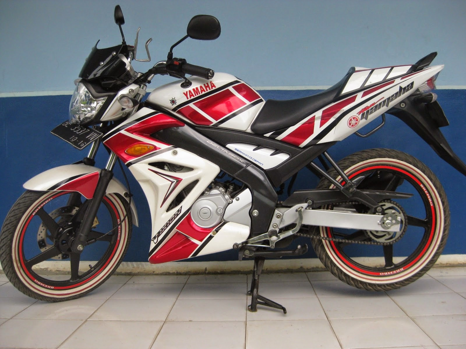 Modifikasi Striping Verza Silver