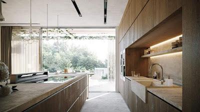 تصميم شباك المطبخ
