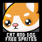 cat dog cute free sprite