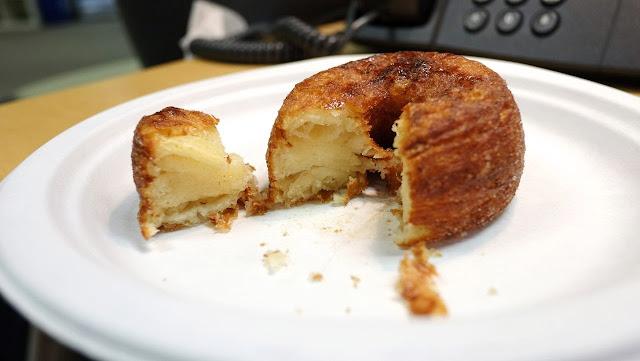 Cronot (Cinnamon Sugar) cut-away