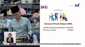 Semakan Status & Kemaskini Untuk Bantuan Prihatin Rakyat (BPR) 2021 -Pembayaran Pada Bulan Januari 2021