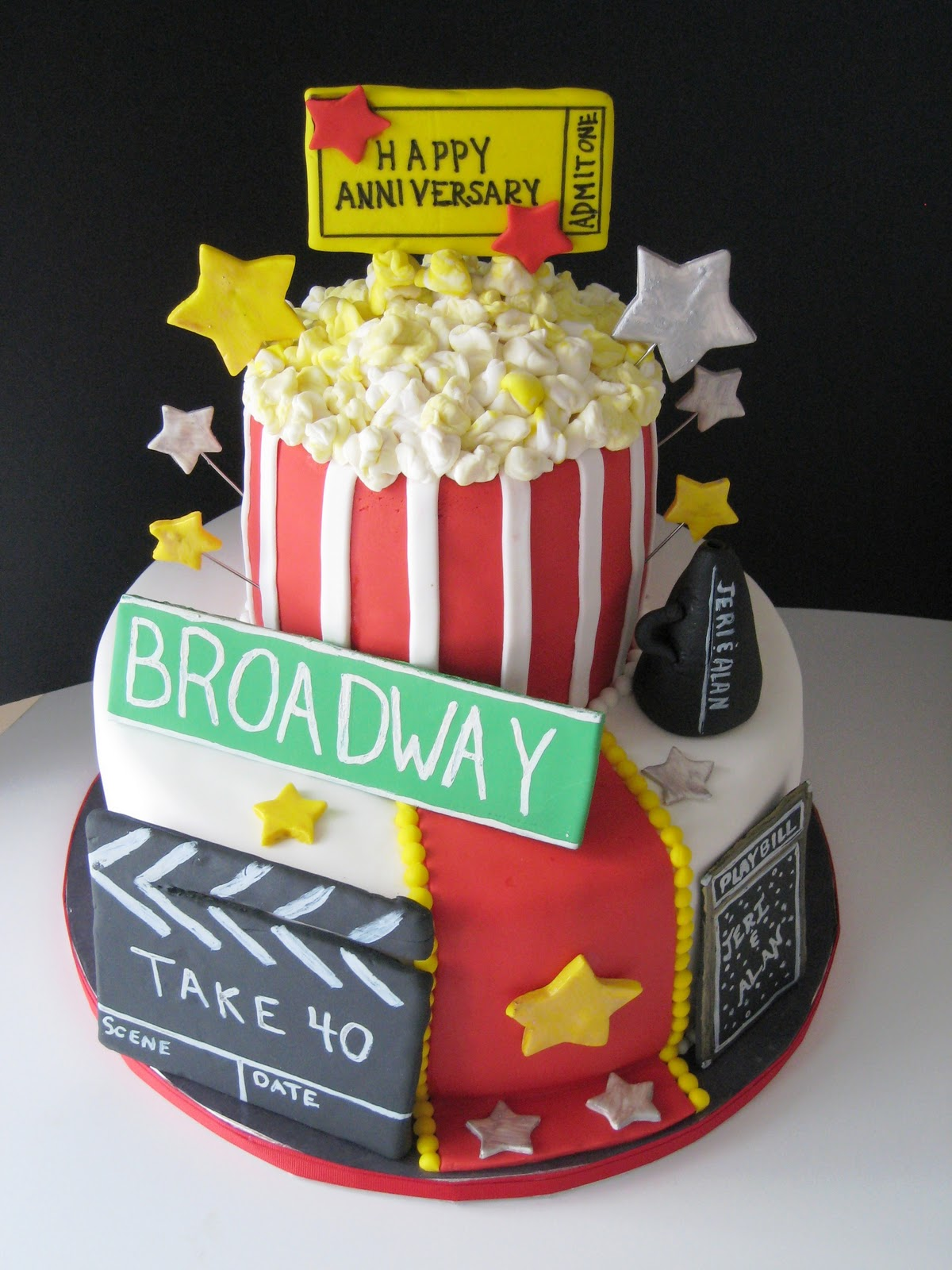 Decorations For Broadway Cake