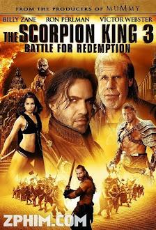 Vua Bò Cạp 3: Trả Nợ Trận Chiến - The Scorpion King 3: Battle for Redemption (2012) Poster