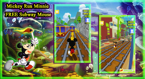 Mickey Run Minnie FREE Subway Mouse - náhled
