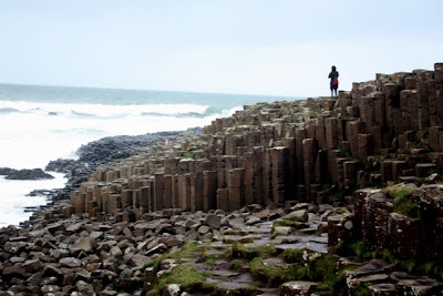 Giant's Causeway in Northern Ireland UK