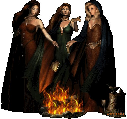 Three Witches, Pretty Witches