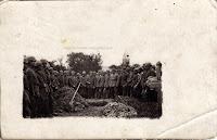 Reserve-Infanterie-Regiment Nr.57 during the funeral ceremony