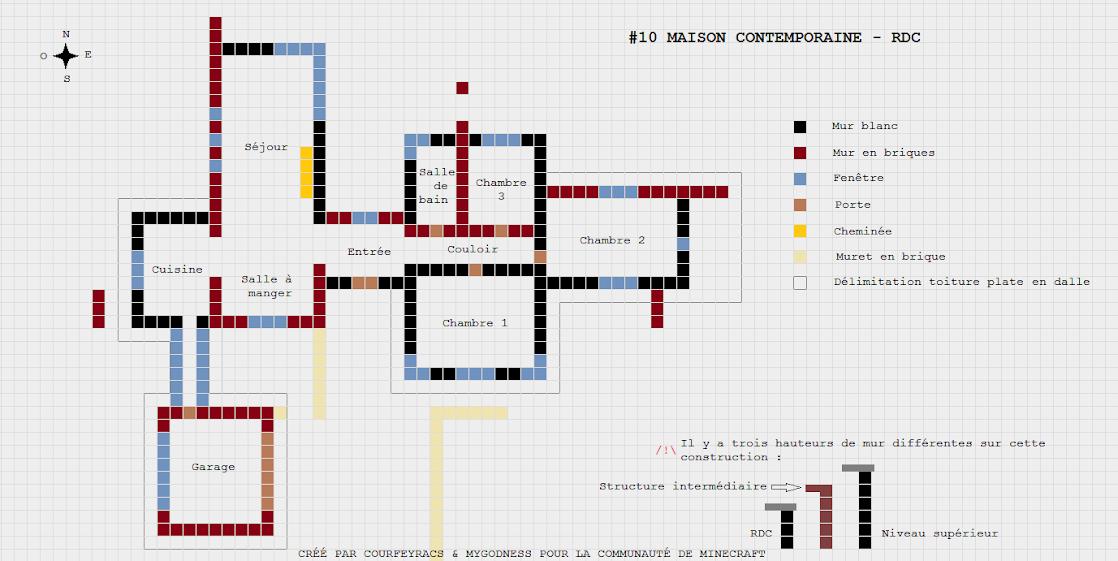 plan maison minecraft xbox 360