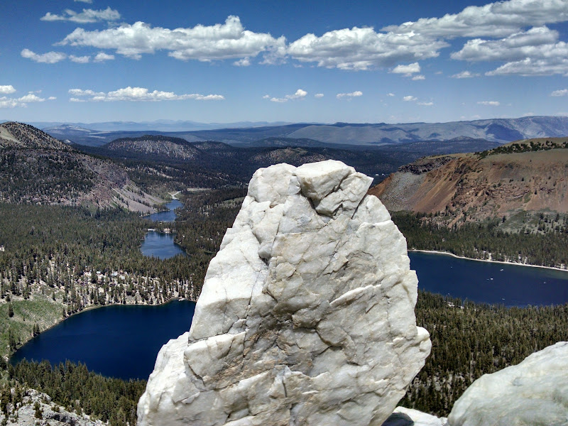 Crystal Crag • View of Mammoth Lakes