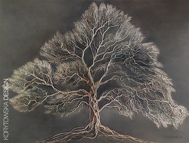 Winter Tree / 24in x 36in / 2013 - $3,600.00