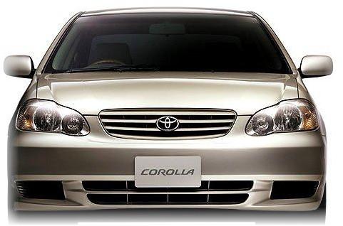 toyota corolla 2004 owners manual