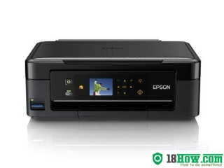 How to reset flashing lights for Epson ME-401 printer