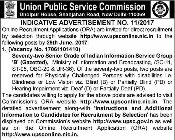 [UPSC+Advertisement+No.11-2017+www.indgovtjobs.in%5B2%5D]