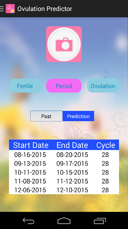 Ovulation Predictor- screenshot
