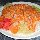 best salmon sashimi in the world in Seoul, Seoul Special City, South Korea