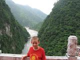 Zach in Taroko Gorge